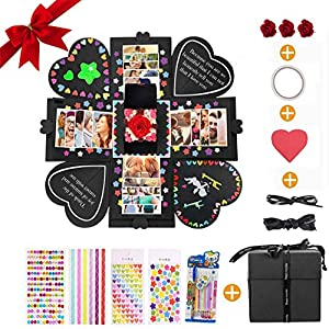 Yompz Explosion Box Scrapbook Creative DIY Photo Album, Caja ...