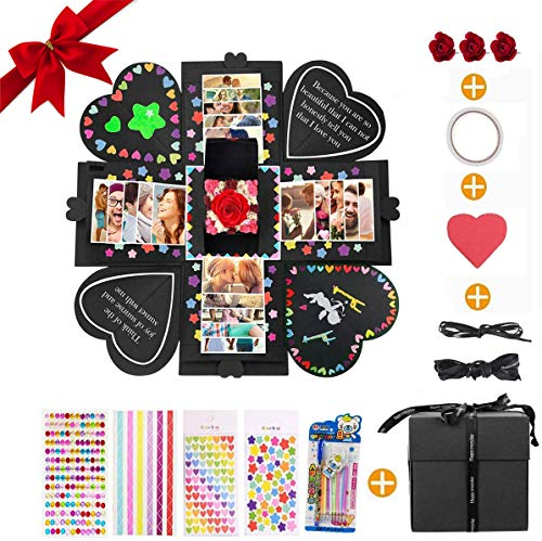 MMTX Explosion Box Scrapbook Creative DIY Photo Album, Caja Sorpresa Regalo de...