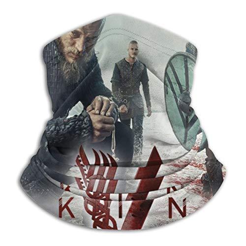 haoking Viking versátil fibra de poliéster deportiva casual Headwear – se puede utilizar como polainas de cuello, bandanas, pasamontañas más