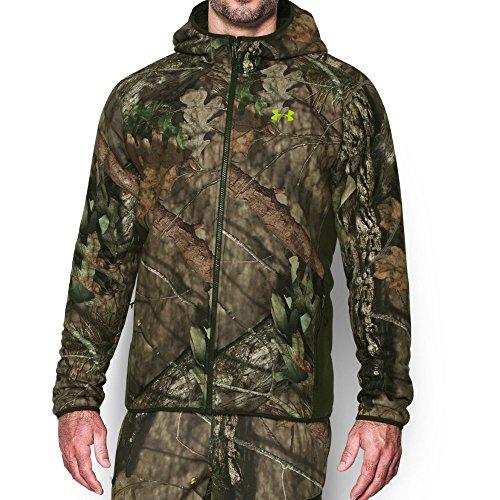 Under Armour Sudadera con capucha Super Fleece Under Armour para hombre, cuenta abierta Mossy Oak (278), peque?a