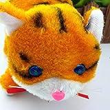 BeesClover Katzenspielzeug, lustige blinkende Augen, elektrisch, bewegliche Katze, Kinder Spielzeug gelb -
