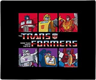 Brand New Cute /& Colorful Cartoon Transformers Robot Rescue Double Sided Hand Tied Fleece Rag Blanket