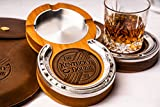 Cherry Kentucky Double Cigar Ashtray Coaster