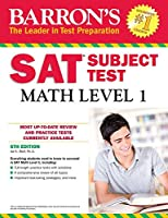 Barron's SAT Subject Test: Math Level 1