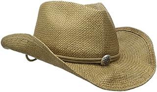 Scala Women's Shapeable Toyo Western Hat