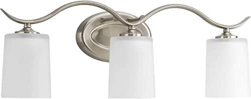 2021 Progress Lighting P2020-09 outlet sale Bath & Vanity, Brushed new arrival Nickel online