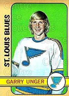 (CI) Garry Unger Hockey Card 1972-73 Topps 35 Garry Unger