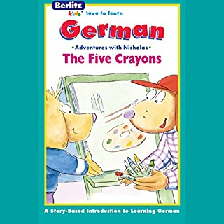 The Five Crayons audiobook cover art