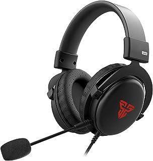 BINDEN Audífonos Gamer MH82 Headset con Micrófono Desmontable Auricular Ligero Compatible con Laptop PC Nintendo Switch y Dispositivos Móviles con Entrada Jack 3.5mm, Negros