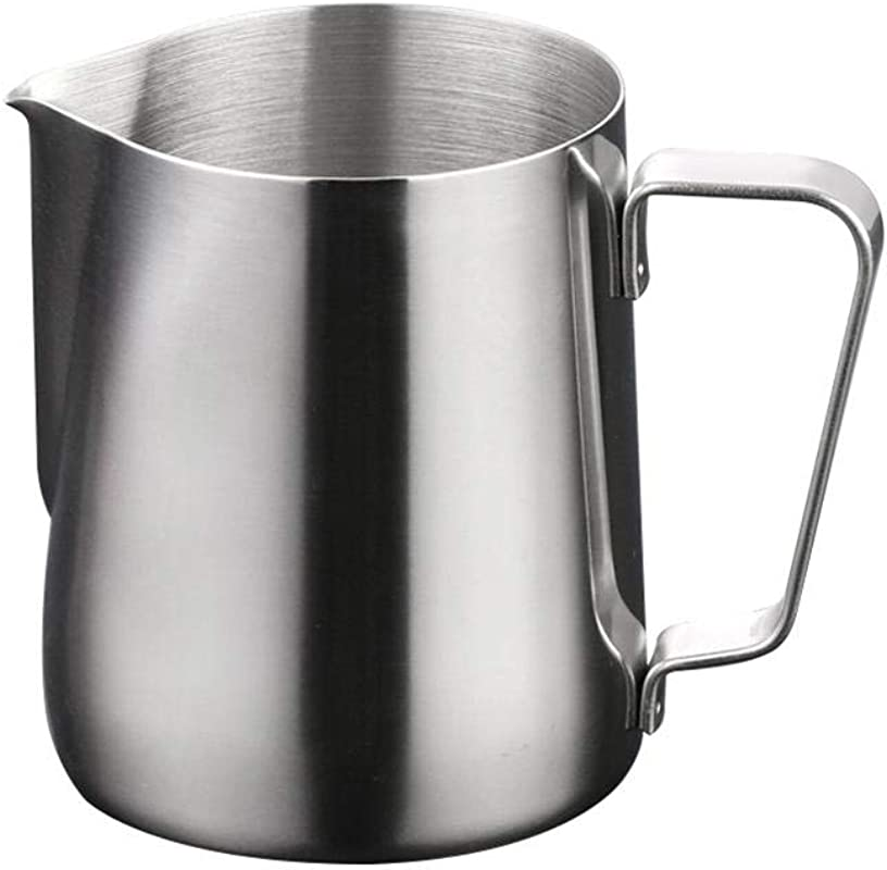 Adaap Stainless Steel Milk Measuring Cup Milk Frothing Pitcher With Marking 100ML