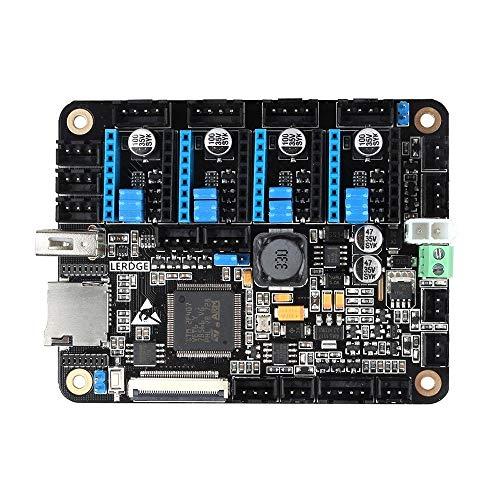 TONGDAUR Carte mère intégrée avec écran Tactile LCD 3,5 Pouces 32 Bits Coretx-M4 Core Control Unit 4 PCS LV8729 Pilote Moteur Pas à Pas pour imprimante 3D Reprap