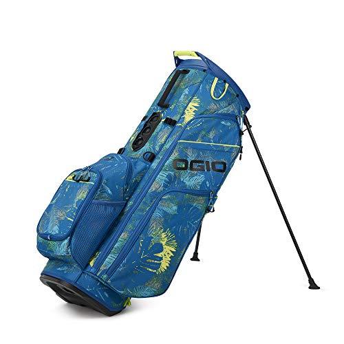 Callaway OGIO 2021 WOODE 8 Hybrid Stand Bag , BLUE FLORAL, 60' W x 50' L