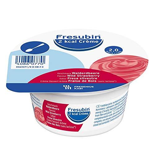 Fresubin 2 kcal Creme Walderdbeere im Becher, 4X125 g