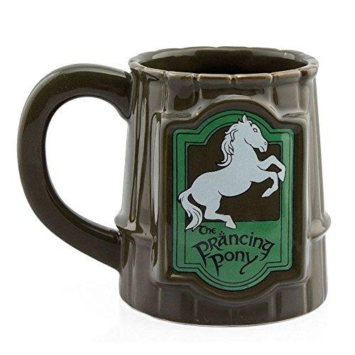 El Señor de los anillos–para Ágiles Pony–3d cerveza jarra–Capacidad 500ml.