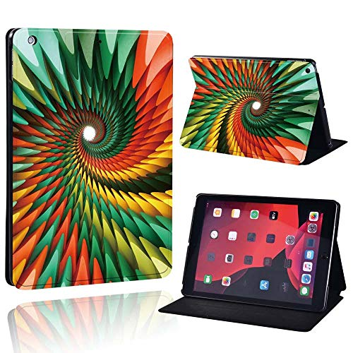 lingtai Slim Leather Case For Ap Ipad Mini 1/2/3/4/5/ Ipad 2/3/4 /Air 1/2/3 /Pro Tablet Stand Protective Case+Free Pen (Color : GreenW, Size : IPad Pro 11)