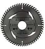 Hoja de sierra circular 160mm con anillos de 30mm, 28mm, 25mm, 22mm y 20mm, perfecta para discos de corte de madera circular de 160mm x 32mm x 60dientes