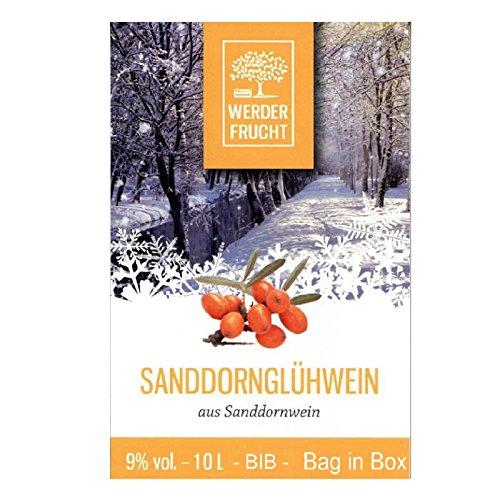 Werder Frucht Glühwein 10 Liter Einweg Bag in Box BIB verschiedene Sorten Geschmack Sanddorn
