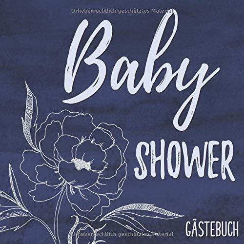Baby Shower Gästebuch: Buntes Erinnerungsalbum für die Babyshower | Erinnerungsbuch mit viel Platz...