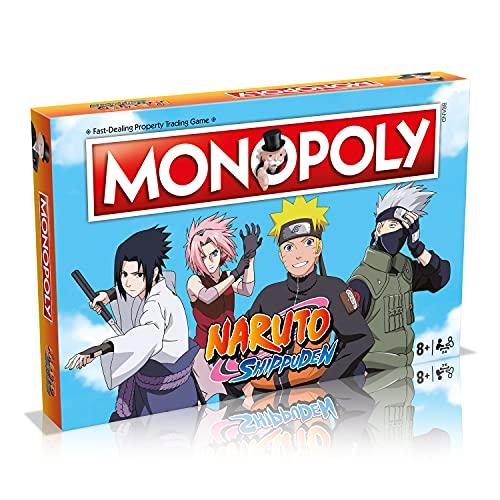 Winning Moves Monopoly Naruto - Shippuden