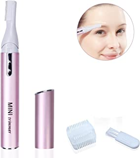 ewinever(R) 1 Pcs Mmini Rotatable Women Lady Portable Hair Electric Eyebrow Trimmer Shaver Razor Remover