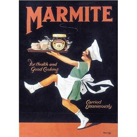 Marmite metal wall sign 500cm X 700cm