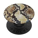 Estampado de serpiente PopSockets PopGrip: Agarre intercambiable para Teléfonos y Tabletas