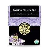 Buddha Teas Organic Passion Flower Tea | 18 Tea Bags | No Caffeine