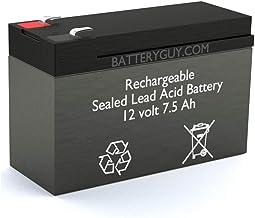 BatteryGuy BGH-1275-PR9030EC 12V 7.5ah High Rate Rechargeable Medical Battery