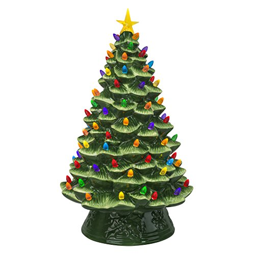 Mr. Christmas Nostalgic Christmas Tree, 18', Green
