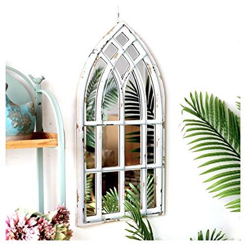 Espejo de pared Arco rústica Jardín del espejo for interio