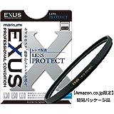 【Amazon.co.jp限定】 MARUMI レンズフィルター 58mm EXUS レンズプロテクト 58mm レンズ保護用 反射率 0.3% 帯電防止 撥水防汚 薄枠 日本製