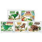 World of Dinosaur Roar Collection 5 Books Set (Dinosaur Roar, Ten Terrible Dinosaurs, The Tyrannosaurus rex,Dinosaur Stomp The Triceratops,Dinosaur Boo The Deinonychus)