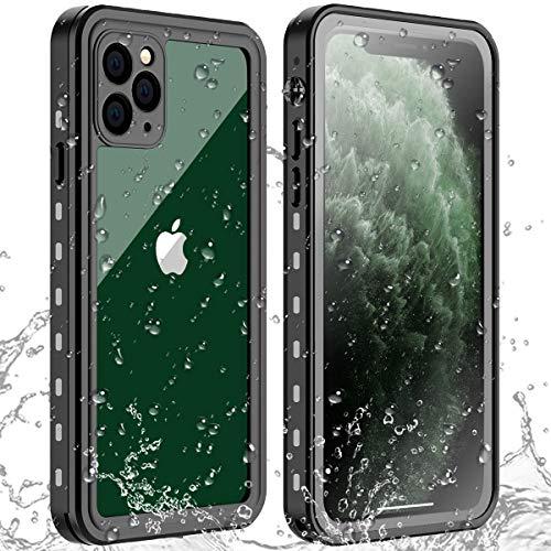 AICase Funda Impermeable iPhone 11 Pro MAX [Anti-rasguños][Protección de 360 Grados],Case Protectora con Protector de...