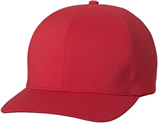Flexfit Delta 180 Premium Baseball Cap Small/Medium Red