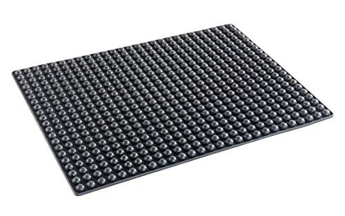 Wenko 25060900 Four Tapis de Silicone Noir