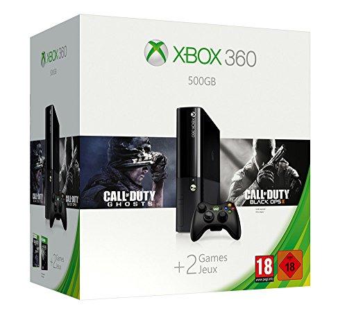 Xbox 360 - Consola 500 GB + 2 Juegos Call Of Duty