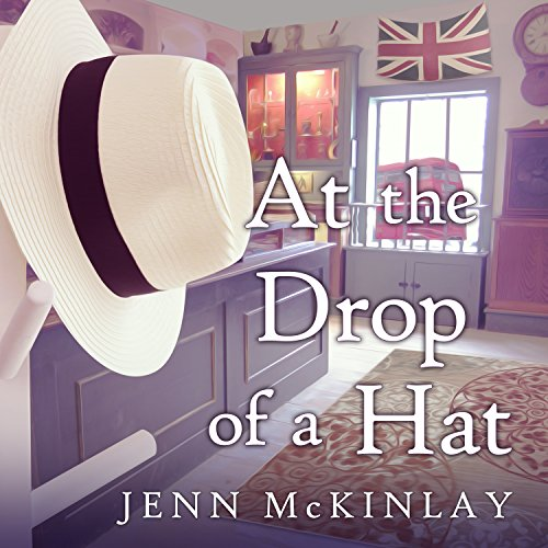 At the Drop of a Hat audiobook cover art