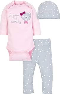 Wonder Nation Baby Girls I Love My Mommy 3 Piece Set
