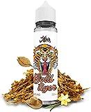 ELIQUID GOLD TIGER | 50ML TPD | LIQUIDEO | Sin Nicotina: 0MG | E-Liquido para Cigarrillos Electronicos - E Liquidos para Vaper 60VG/40PG