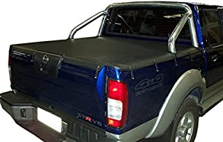 Ute Tonneau Cover to suit Nissan Navara Dual Cab STR D22 With Factory Sport Bar 01-08