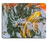 Yanteng 17P05740 Creatividad Tapete para ratón para Juegos Alfombrilla para ratón Peces Hermosos Nadando en el Estanque