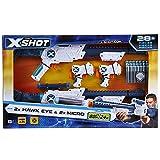 X-Shot Combo Double Hawk Eye & Double Micro Blasters