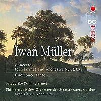 Mueller: Concertos for Clarinet & Orch