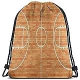 Arvolas Bolsas con cordón para Gimnasia Amante del Deporte Cancha de Baloncesto Bolsa de tirón de Cuerda de parquet Bolsas de cincho livianas Bolsa de Almacenamiento