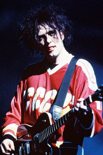 The Cure 24x36 Poster Robert Smith in concert