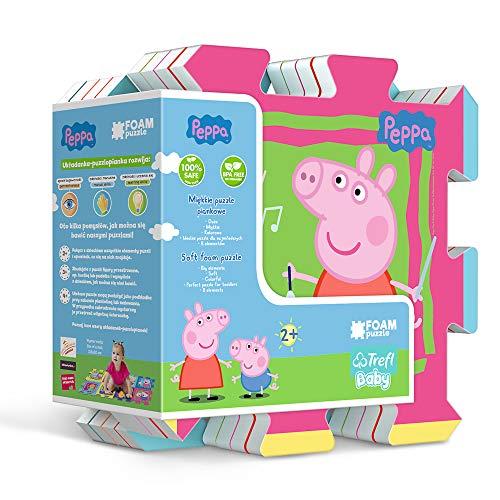 Trefl 60398 Puzzle de Espuma Peppa Pig