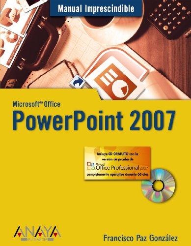 PowerPoint 2007 (Manuales Imprescindibles)
