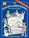 134 Sound-Loaded Scenes for Articulation: 20 Sounds plus Blends Book by Super Duper Staff (1996) Paperback