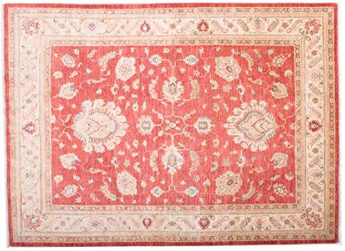 Teppichprinz Feiner Chobi-Ziegler Farahan 200x146 cm Handgeknüpfter Orientteppich 200 x 150