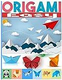 Origami Easy: 40 Faltmodelle für Kinder | 25 vollfarbige 3D-Faltmodelle für Kinder | 3d-Tiere Origami ideal als Geschenk